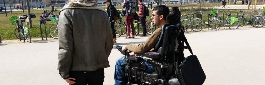 Estrasburgo en silla de ruedas